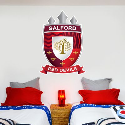 Salford Red Devils Rugby Club Crest Wall Sticker