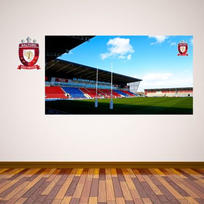 Salford Red Devils Rugby Club AJ Bell Stadium Wall Sticker