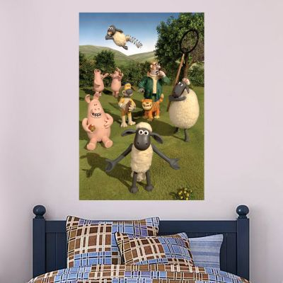 Shaun The Sheep - Farm Characters Wall Sticker