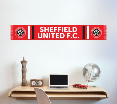 Sheffield United F.C. - Scarf Wall Sticker