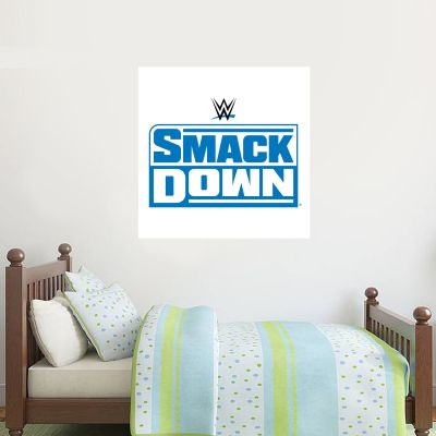 WWE SmackDown Logo Wall Sticker