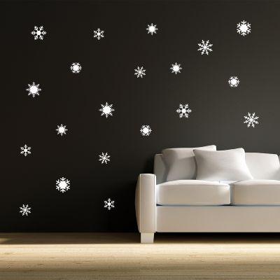 Snowflake Wall Sticker Set