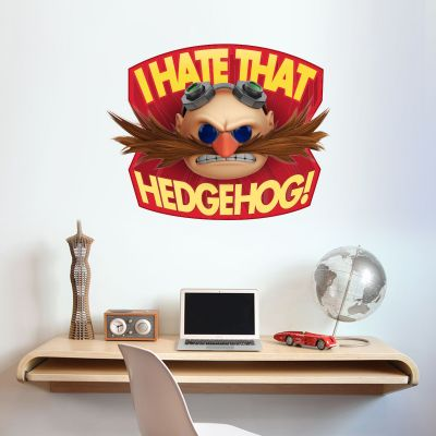 Sonic The Hedgehog - I HATE THAT HEDGEHOG Doctor Eggman Wall Sticker