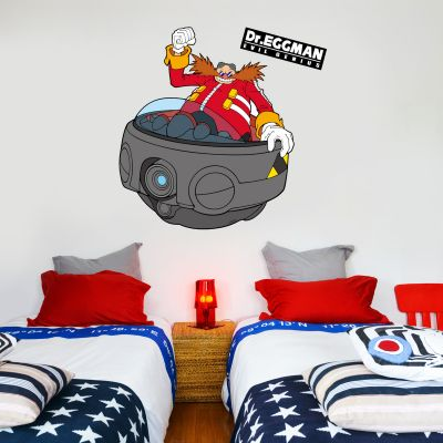 Sonic The Hedgehog - Dr Eggman Wall Sticker