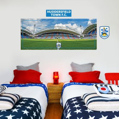 Huddersfield Town Football Club - Kirklees Stadium (Wide Shot) + Terriers Wall Sticker Set
