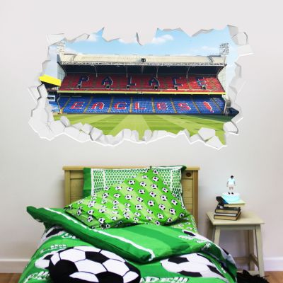 Crystal Palace F.C. - Selhurst Park Stadium Broken Wall Sticker