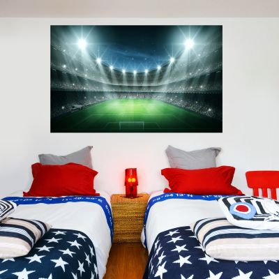 Football Stadium Lights Wall Sticker