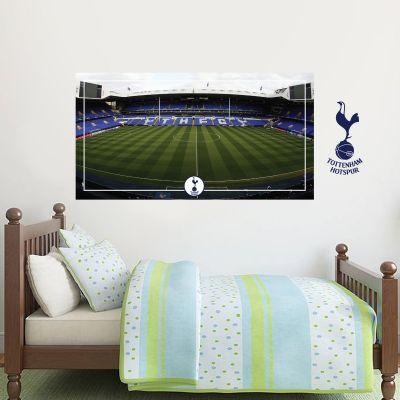 Tottenham Hotspur Football Club - Stadium Mural + Spurs Wall Sticker Set