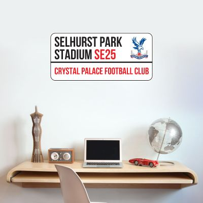 Crystal Palace F.C. - Stadium Street Sign Wall Sticker