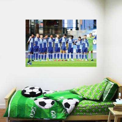 Bristol Rovers F.C. Team Starting Line Up Wall Sticker