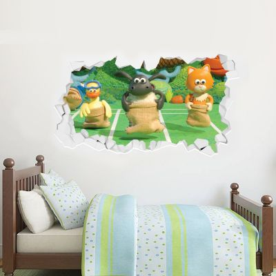 Timmy Time - Timmy And Friends Playing Wall Sticker