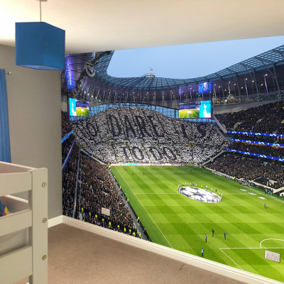 Tottenham Hotspur Football Club Stadium To Dare Is To Do Stands Full Wall Mural