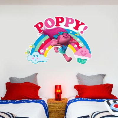 Trolls - Poppy Rainbow Wall Sticker