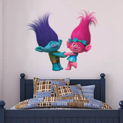 Trolls - Poppy & Branch Wall Sticker