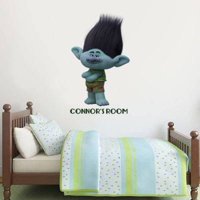 Trolls - Branch Personalised Wall Sticker