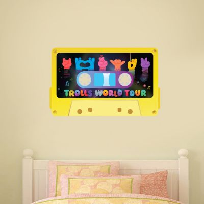 Trolls World Tour - Music Tape Wall Sticker