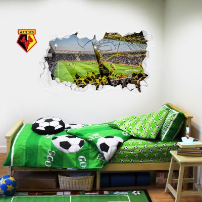 Watford FC - Smashed Vicarage Road Stadium Crowd Wall Sticker