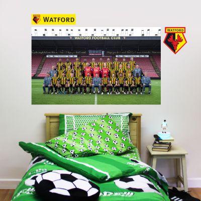 Watford FC - Team Photo Wall Sticker