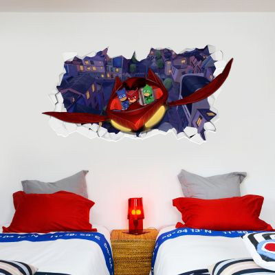 PJ Masks: Glider Broken Wall Sticker