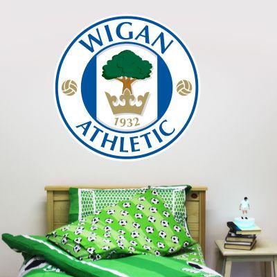 Wigan Athletic F.C. Crest Wall Sticker