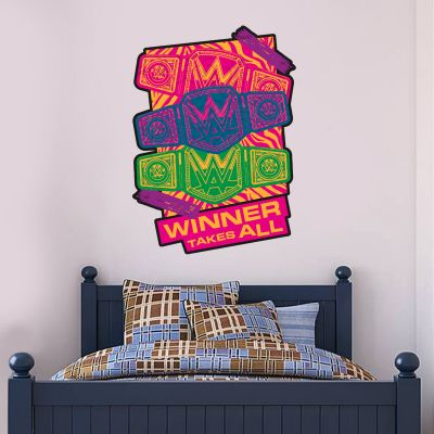 WWE - Winner Takes All 90s Wall Sticker