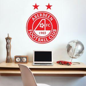 Aberdeen Football Club - Crest Wall Sticker