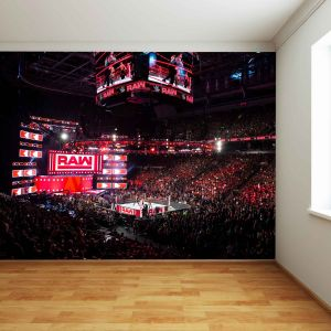 WWE Raw Arena Full Wall Mural