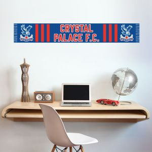 Crystal Palace Football Club - Scarf Design Wall Sticker