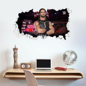 WWE - Seth Rollins Broken Wall Sticker