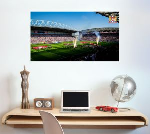 Wigan Warriors Rugby Club Stadium Day Time Wall Sticker