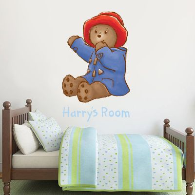 Baby Paddington Bear - Personalised Name Paddington 004