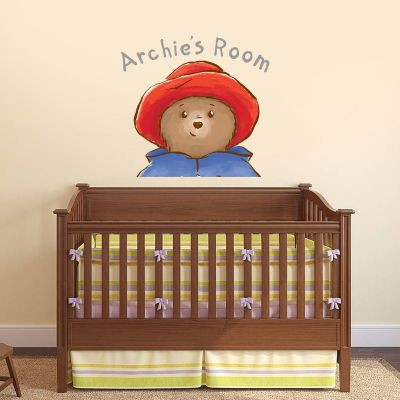 Baby Paddington Bear - Personalised Name Head