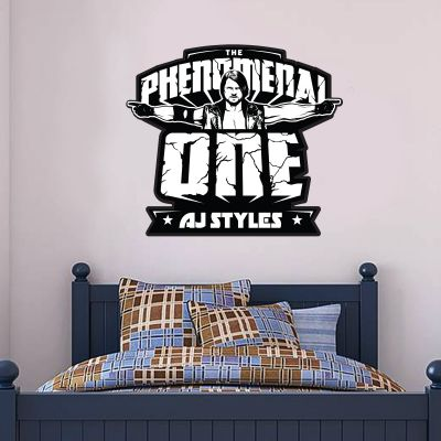 WWE - AJ Styles Graphic Wall Sticker