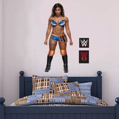 WWE - Ember Moon Wrestler Decal + Bonus Wall Sticker Set