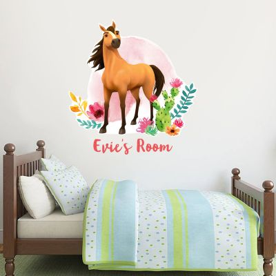 Spirit Riding Free - Spirit Personalised Wall Sticker