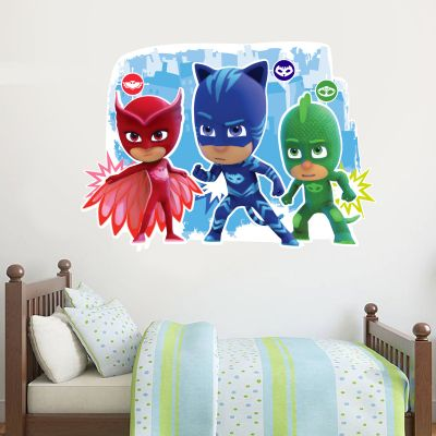 PJ Masks: 3 Characters Wall Sticker