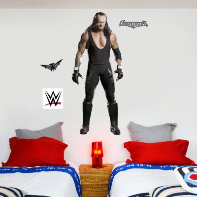 WWE - The Undertaker Wrestler Decal 1 + Bonus Wall Sticker Set