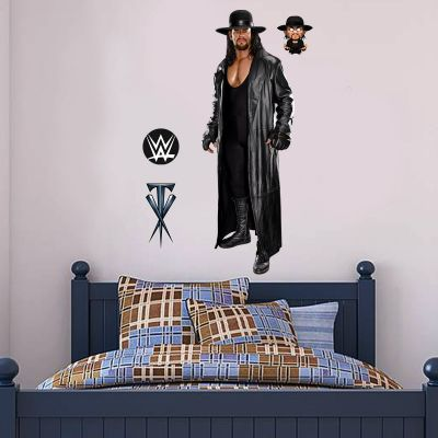 WWE - The Undertaker Wrestler Decal 2 + Bonus Wall Sticker Set