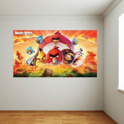 Angry Birds Wall Sticker Mural