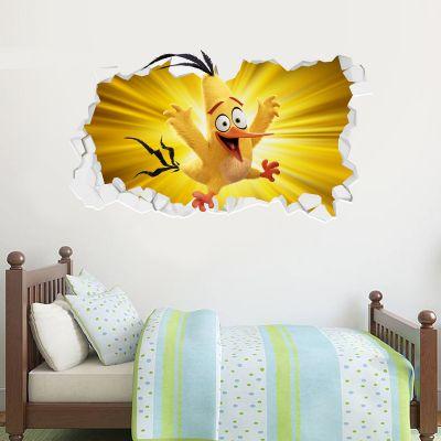 Official Angry Birds - Chuck Broken Wall Sticker