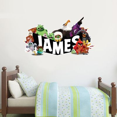 Official Angry Birds - All Characters Personalised Wall Sticker