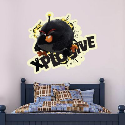 Official Angry Birds - Bomb Xplosive Decal Wall Sticker
