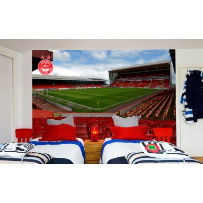 Aberdeen FC - Pittodrie Stadium Full Wall Mural