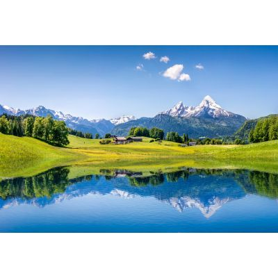 Alps & Landscape Wall Mural