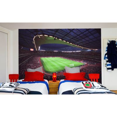 Arsenal Emirates Stadium Full Wall Mural - Inside Full Stadium Nigth Time Match