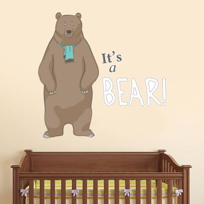 Bear Hunt 'Its a Bear' Wall Sticker