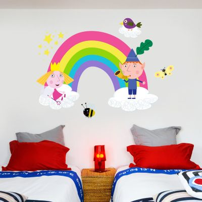 Ben & Holly's Little Kingdom: Rainbow Wall Sticker