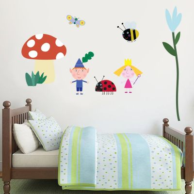 Ben & Holly's Little Kingdom: Forest Wall Sticker Set