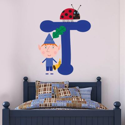 Ben & Holly's Little Kingdom: Ben and Personalised Letter Wall Sticker