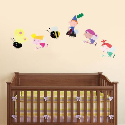 Ben & Holly's Little Kingdom: Group Flying Wall Sticker